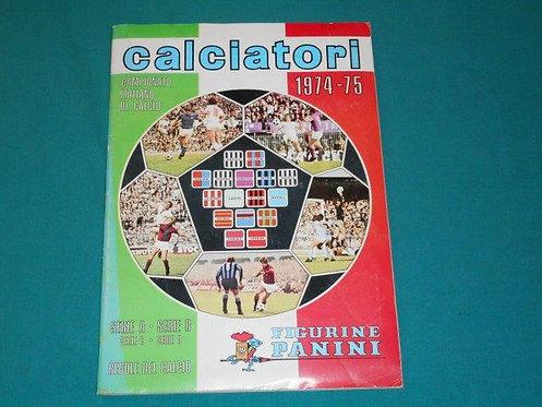 Figurine PANINI ALBUM CALCIATORI 1974-75 - completo con cedola