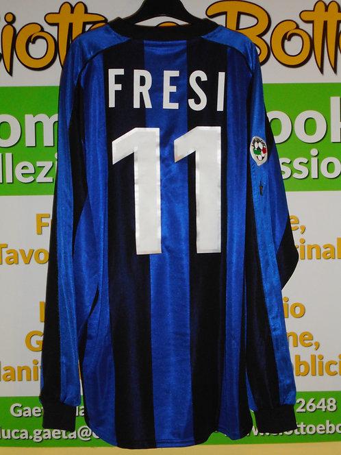 Maglie INTER match worn 1999/2000 # 11 FRESI # 3 COLONNESE # 20 RECOBA