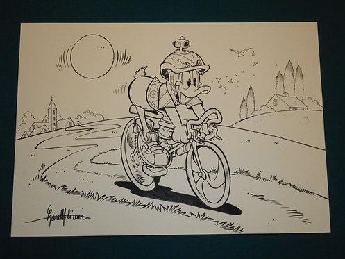 Lara MOLINARI Original Illustration Art - Illustrazione originale Disney 35x50