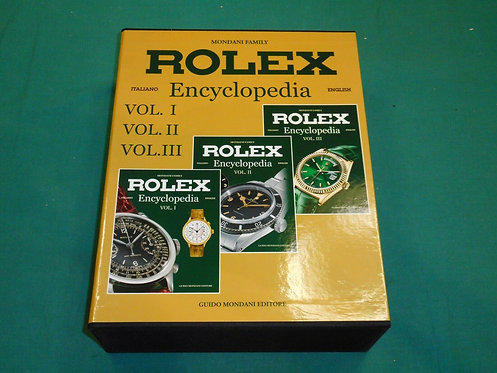 Mondani Family - ROLEX ENCYCLOPEDIA Vol. I II III - Guido Mondani Editore