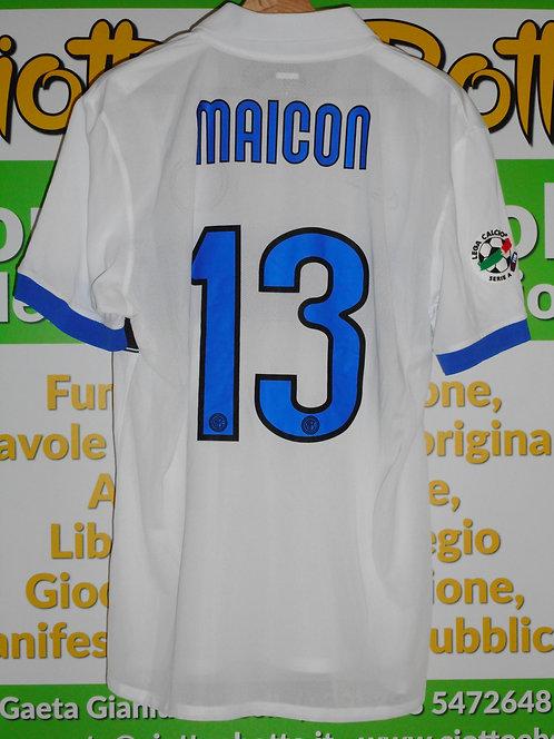 Maglia INTER match worn # 13 MAICON 8a giornata Serie A 2009-2010