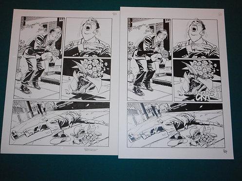 Bruno BRINDISI Tavola originale Original Comic Art # 80 Dylan Dog # 338 Bonelli