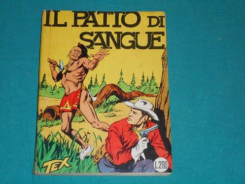 TEX GIGANTE II SERIE # 7 NON CENSURATO Spillato Aut.478 Araldo 1a e Unica Ediz.