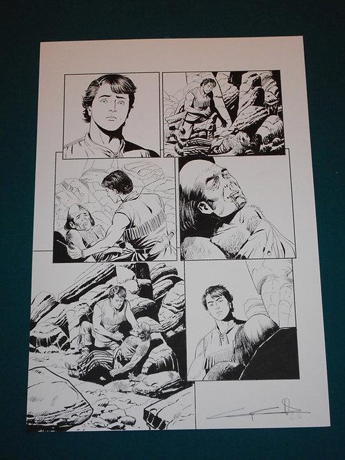 Giuseppe CANDITA Original Comic Art - Tavola originale Zagor Le Origini # 3