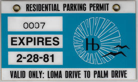 1980 Residential Parking Permit