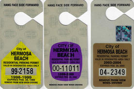 1998, 1999, & 2003 Residential Parking Permits