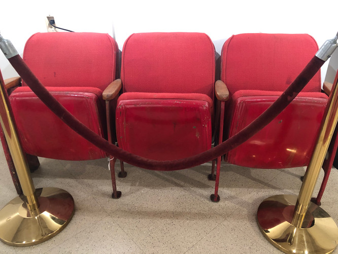 Bijou Theater Seats & Rope