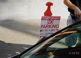 Temporary No Parking