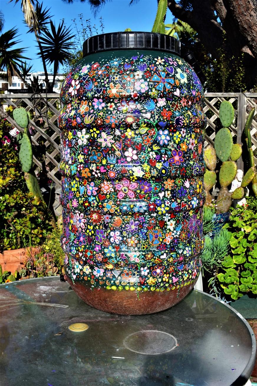 Decorating Rain Barrels