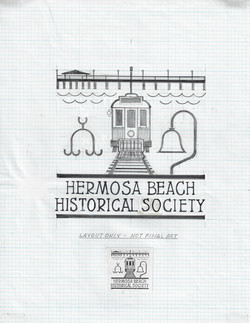 HBHS Logo Pier and Train Car