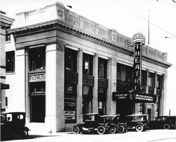 the completed Metropolitan Theatre