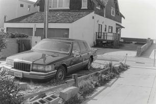 'Creative' Hermosa Beach Parking, February 19th 1992