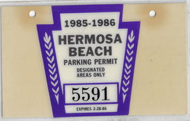 1985 Residential Parking Permit