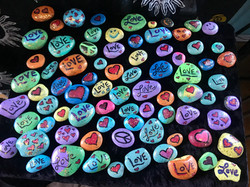 Painting Rocks to Share!