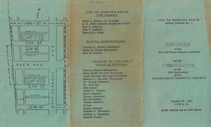 1962 Parking Dedication Program, SIDE 1