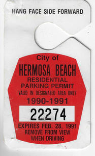 1990 Residential Parking Permit