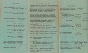 1962 Parking Dedication Program, SIDE 2