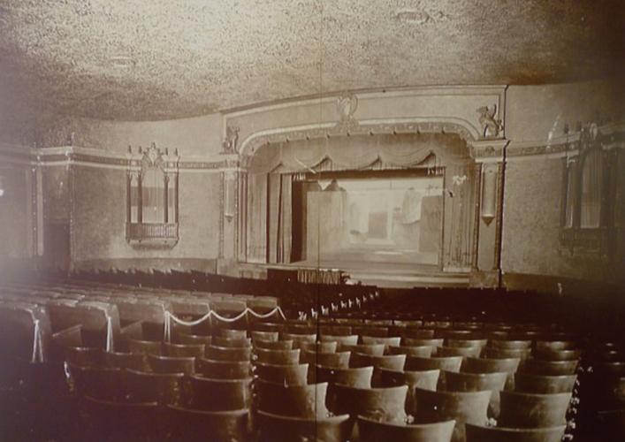 Inside of Hermosa Theater