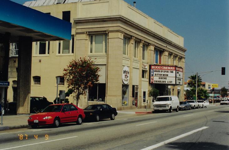 Memories of the Bijou Theater