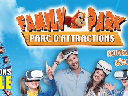 Saint Martin Le Beau Family Park (60 mins)
