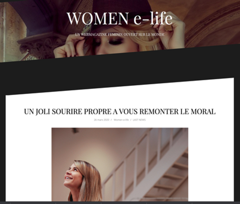 Relation Presse Rêves d'Artisans : Babe is Busy pour Women e-life