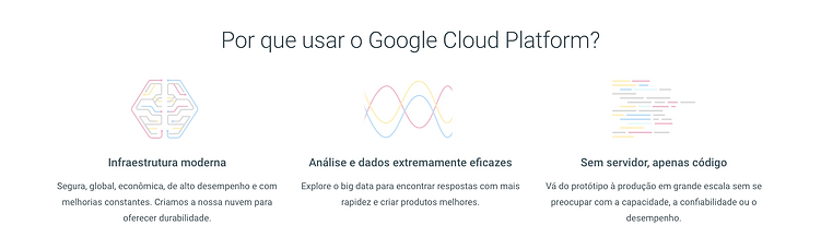 Por Que Google Cloud Platform ?