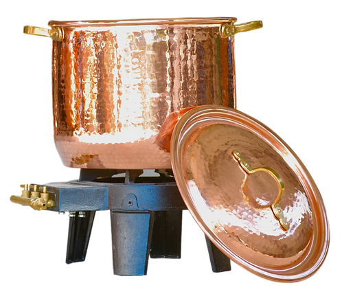 Marmite en cuivre 86 litres