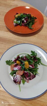 Radicchio and Arugula salad