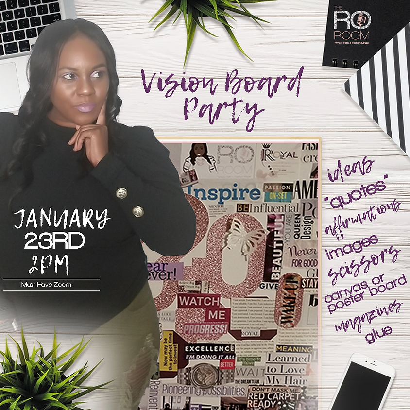 Vision Board Party 2021