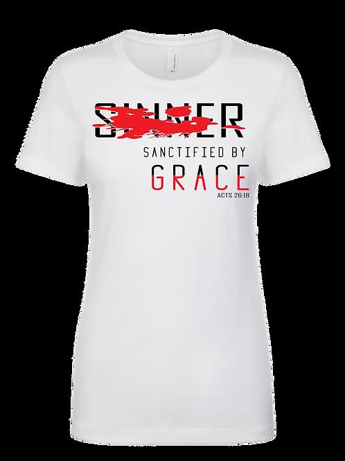 SINNER SANCTIFIED BY GRACE