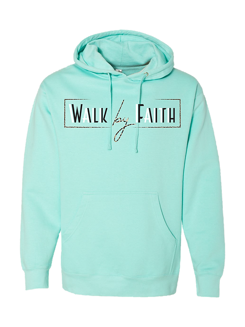 WALK BY FAITH-UNISEXHOODIE