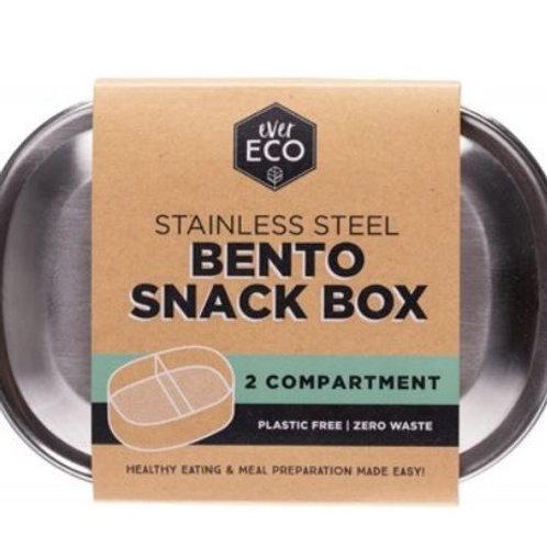 Ever Eco SS Bento Snack Box 2 compartments