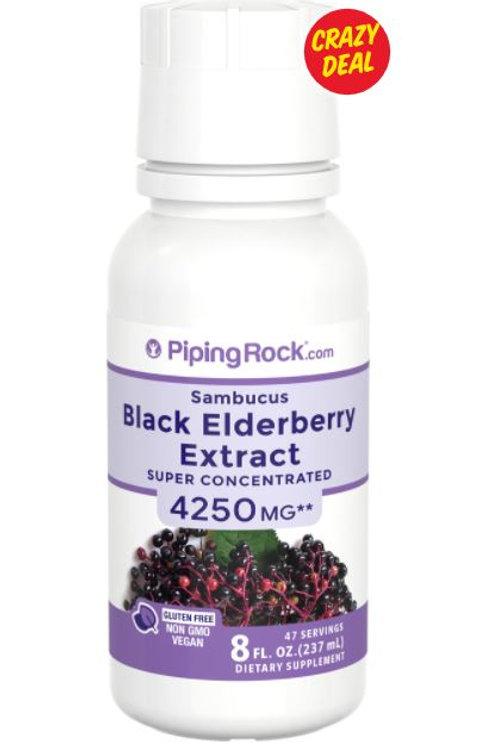 Black Elderberry Extract 4250 mg