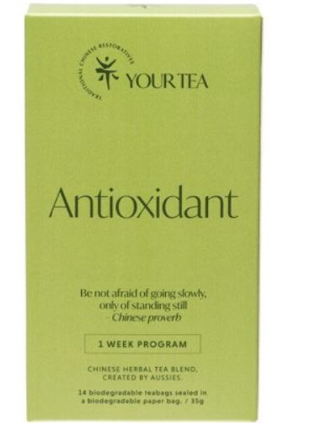 Chinese Herbal Blend - Tea Bags 1 Week Program - Antioxidant