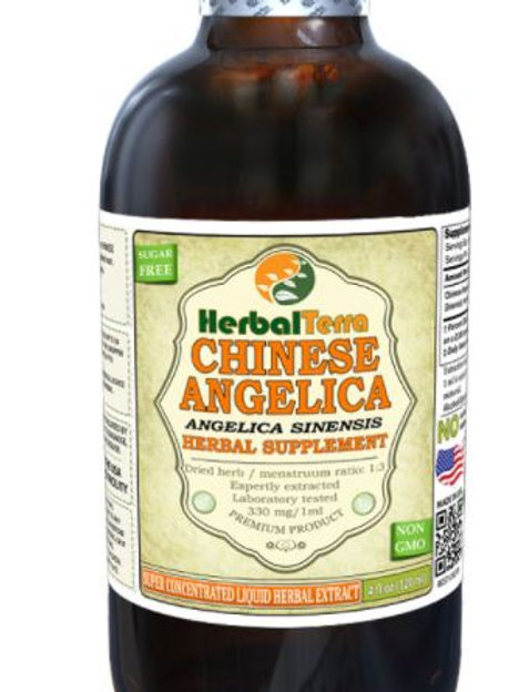 Angelica Chinese (Angelica Sinensis) Tincture