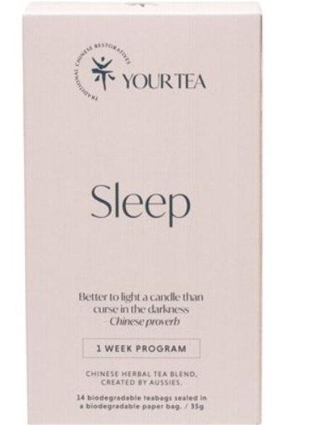 Chinese Herbal Blend - Tea Bags 1 Week Program - Sleep