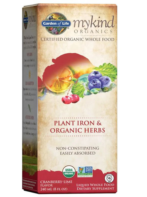 Plant Iron And Herbs Cranberry-Lime - 240ml