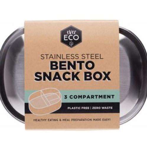 Ever Eco SS Bento Snack Box 3 compartments