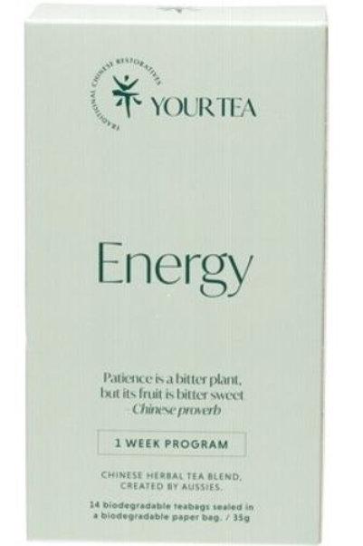 Chinese Herbal Blend - Tea Bags 1 Week Program - Energy