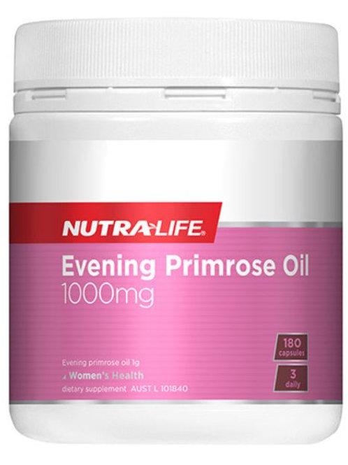 Nutra-life Evening Primrose Oil 1000mg 180capsules