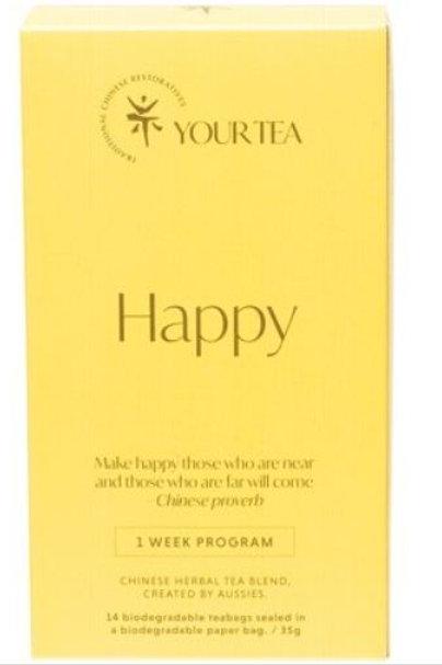 Chinese Herbal Blend - Tea Bags 1 Week Program - Happy