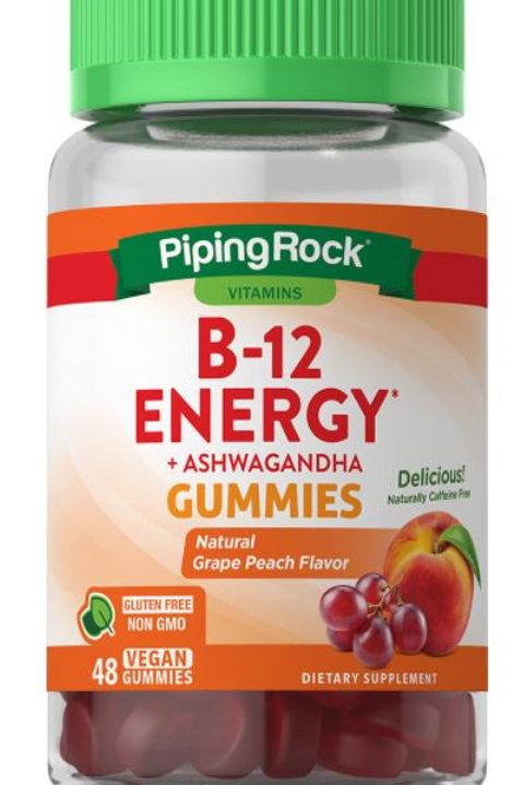 B12 Energy plus Ashwagandha Gummies