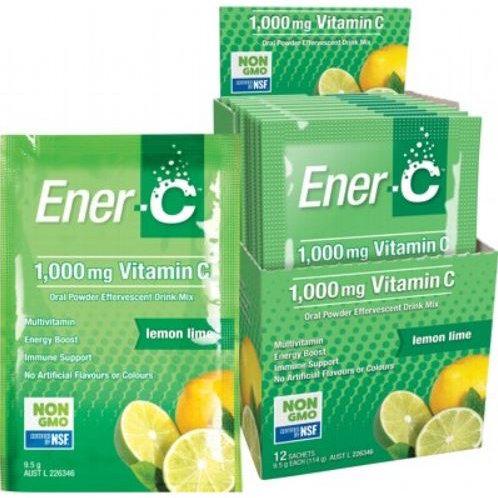 Vitamin C Drink Mix Lemon Lime Sachets 1000mg