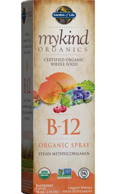 B12  Spray - Raspberry - 58ml