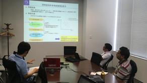 Monthly Meeting of Group 4 Held in Tokyo