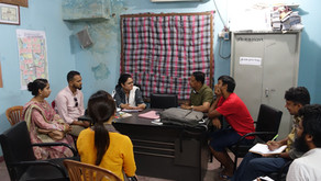 Working Group 4 Meets with the Community Members of Their Study Area