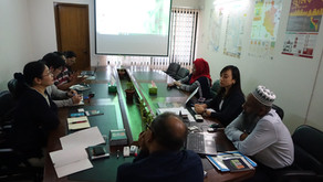 Group 4 Members Visit DNCC Office