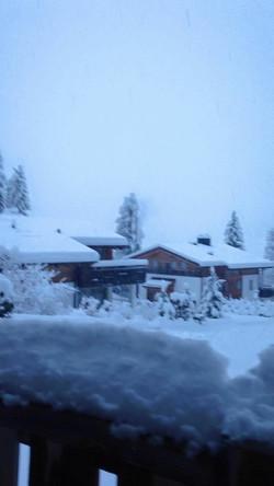 Flims snowfall 2016