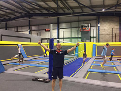 Coach Si at Oxygen free jumping