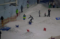 English ski and snowboard cross